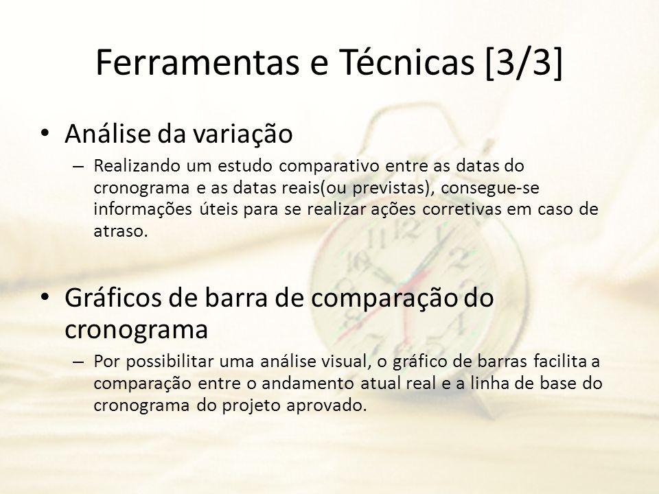 Ferramentas e Técnicas [3/3]